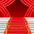 красный · ковер · лестнице · Spotlight · файла · этап · театра - Сток-фото © konturvid