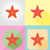 starfish flat icons vector illustration stock photo © konturvid
