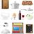 cuisine · icônes · restaurant · cuisson · isolé - photo stock © konturvid