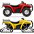 Cartoon · Jeep · искусства · скорости · смешные · транспорт - Сток-фото © konturvid