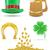 set icons st patricks day vector illustration stock photo © konturvid