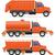 груза · грузовика · мусора · удаление · изолированный · белый - Сток-фото © konturvid
