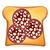 белый · хлеб · тоста · икона · сыра · продовольствие · искусства - Сток-фото © konturvid