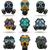 ikon · kimya · gaz · maskesi · renk · dizayn · tıbbi - stok fotoğraf © konturvid
