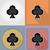 カジノ · オブジェクト · アイコン · 実例 · 孤立した - ストックフォト © konturvid