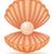 shell with pearl vector illustration stock photo © konturvid