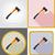ax repair and building tools flat icons vector illustration stock photo © konturvid