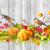 krizantem · çiçek · sonbahar · sahne · beyaz · sarı - stok fotoğraf © kostins