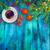 цифровой · Живопись · оранжевый · цветок · фон · лет - Сток-фото © kostins