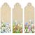 szett · könyvjelzők · virágok · dekoratív · címkék · virágzó - stock fotó © kostins