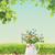 飲料水 · 少女 · 水 · 漫画 · 孤立した - ストックフォト © kostins