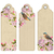 set of bookmarks with flowers stock photo © kostins