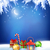 vector christmas winter night background stock photo © kostins