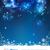 maan · sterren · abstract · nachtelijke · hemel · ruimte · Blauw - stockfoto © kostins