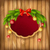 vector christmas garland frame balls background stock photo © kostins