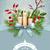 vector christmas greeting card stock photo © kostins