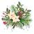 Navidad · retro · acuarela · decorativo · marco · aves - foto stock © kostins