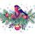 vidám · karácsony · vízfesték · rajz · ünnep · díszítések - stock fotó © kostins