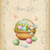 primavera · pintado · borboletas · fronteira · ilustração · papel - foto stock © kostins