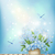 bahar · mavi · çiçekler · vazo · vektör · romantik - stok fotoğraf © kostins