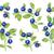 коллекция · Ягоды · вишни · клубники · черника · малина - Сток-фото © kostins
