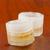kettő · jégkocka · whiskey · üveg · asztal · bár - stock fotó © koufax73