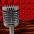 vintage · lucht · live · uitzending · teken · radio - stockfoto © koufax73