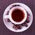 branco · copo · grãos · de · café · leite · salpico · preto · e · branco - foto stock © koufax73