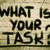 何 · ミッション · 質問 · 白 · チョーク · 手書き - ストックフォト © krasimiranevenova