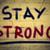 ficar · forte · texto · confiança · força · vitória - foto stock © krasimiranevenova