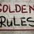 arany · szabályok · férfi · hordoz · emlékeztető · felirat - stock fotó © krasimiranevenova