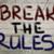 ブレーク · ルール · 革新 · 単語 · 黒板 · ビジネス - ストックフォト © krasimiranevenova