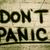 しない · パニック · 警告 · 孤立した · 文字 · ヴィンテージ - ストックフォト © krasimiranevenova