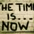 tiempo · ahora · reloj · icono · palabras · blanco - foto stock © krasimiranevenova