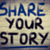 share your story concept stock photo © krasimiranevenova