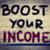 erősítés · jövedelem · absztrakt · háttér · pénzügy · adat - stock fotó © krasimiranevenova