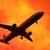 avion · décollage · coucher · du · soleil · ciel - photo stock © kravcs