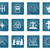 set of christian icons stock photo © krisdog