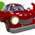 desenho · animado · lava-jato · carro · mãos · cara · projeto - foto stock © krisdog