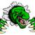 漫画 · 目 · 芸術 · 緑 · 動物 · 笑みを浮かべて - ストックフォト © krisdog