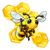 蜂 · 漫画 · 手 · 空 · 顔 - ストックフォト © krisdog
