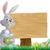 chocolade · paaseieren · teken · Easter · Bunny · wijzend - stockfoto © krisdog