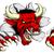 red bull ripping through background stock photo © krisdog