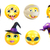 halloween emoticon icon set stock photo © krisdog