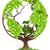 вектора · окружающий · защиту · большой · дерево - Сток-фото © krisdog
