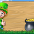 cartoon leprechaun st patricks day background sign stock photo © krisdog
