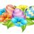 Pasen · voorjaar · vakantie · infographics · cirkel - stockfoto © krisdog