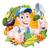 cartoon vegetables gardener stock photo © krisdog
