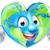 earth heart globe cartoon character stock photo © krisdog