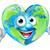 föld · napja · szív · világ · rajzfilmfigura · boldog · kabala - stock fotó © krisdog
